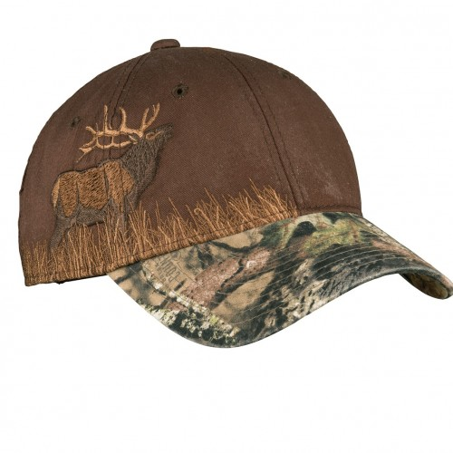 Port Authority® Embroidered Camouflage Cap