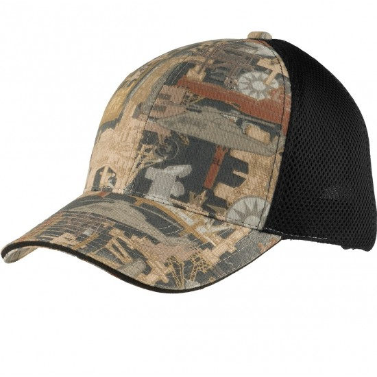 Port Authority® Camouflage Cap with Air Mesh Back