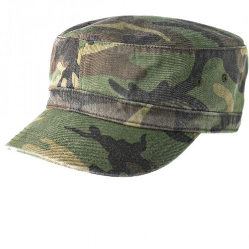 District ® Distressed Military Hat