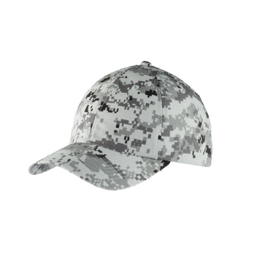 Port Authority® Digital Ripstop Camouflage Cap