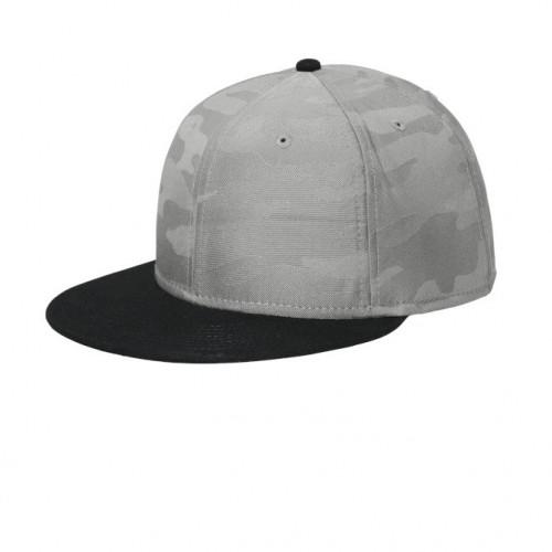 New Era ® Camo Flat Bill Snapback Cap