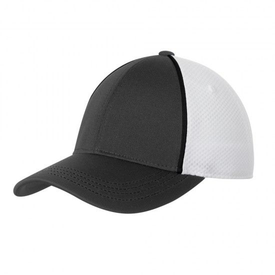 Sport-Tek® Piped Mesh Back Cap