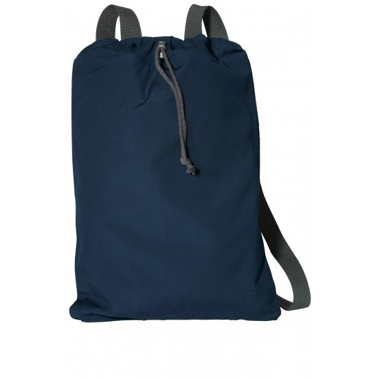 Port Authority Canvas Cinch Pack by dufflebags
