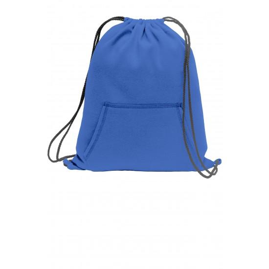Port & Company® Core Fleece Sweatshirt Cinch Pack by dufflebags