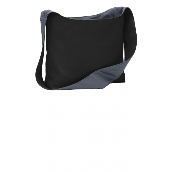 Port Authority Cotton Canvas Sling Bag by dufflebags