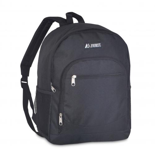 Casual Backpack w/ Side Mesh Pocket