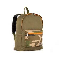 Basic Color Block Backpack