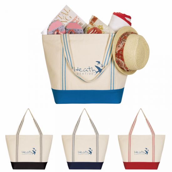Cotton Travel Tote by Duffelbags.com