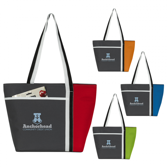 Calling All Stripes Cooler Tote by Duffelbags.com