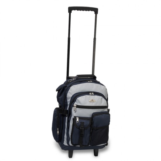 Deluxe Wheeled Backpack by Dufflebags.com - Luggage store - Wholesale bag - Best duffle bag - personalized duffle bag