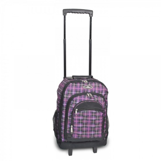 Wheeled Backpack With Pattern by dufflebags