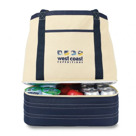 Coastal Cotton Insulated Tote by dufflebags
