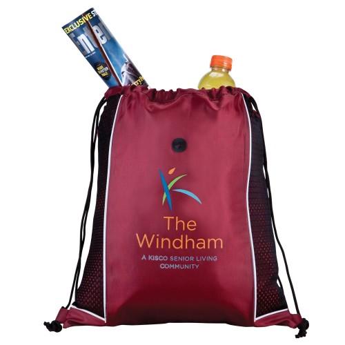 Sport Jersey Drawstring Backpack