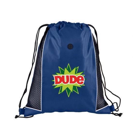 Sport Jersey Drawstring Backpack by Duffelbags.com