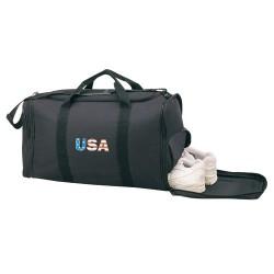 Sports Gym Bag W/ Shoe Storage