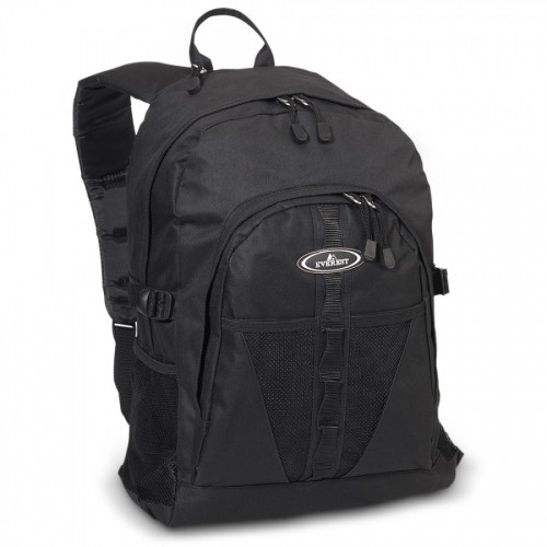Backpack W/ Dual Mesh Pockets