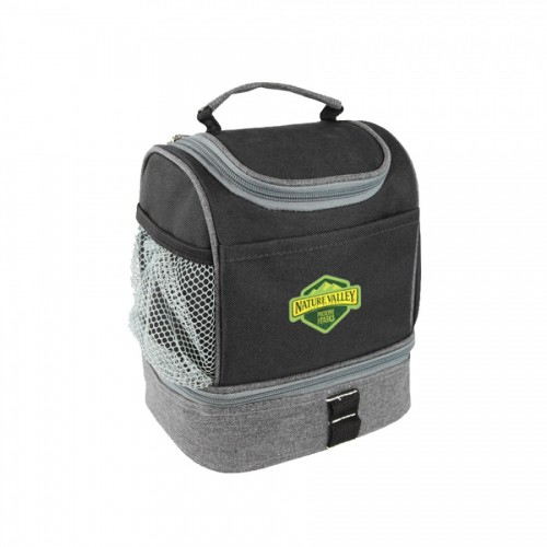 The Compact Dual Lunch Cooler