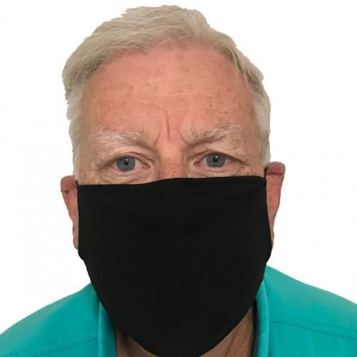 Face Mask Office Black