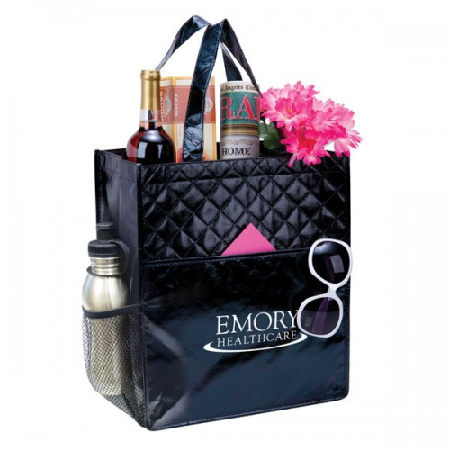 Quilted Laminated Tote
