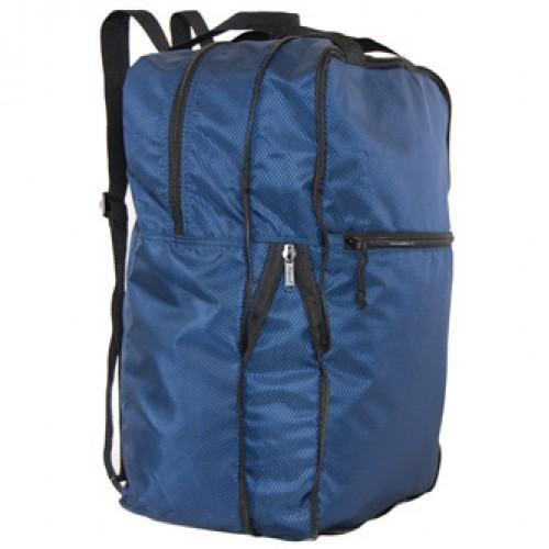 U-zip expandable packable backpack