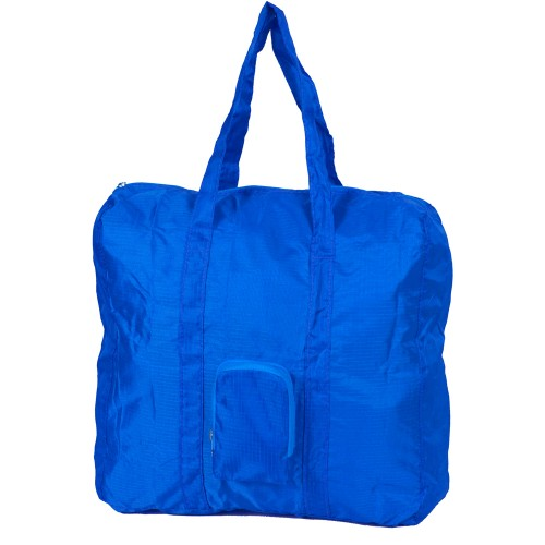 U-zip expandable packable small carry duffel