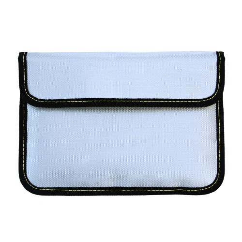 """Signal blocking pouch (Fire proof & fits up 9""""x6"""" tablet, cell phone & hard drive)"""