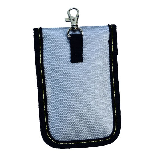 """Signal blocking pouch (Fire proof fits up 3.5""""x5"""" Key FOB & Credit cards)"""