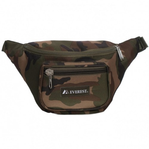 Woodland Camo Waist Pack - Large