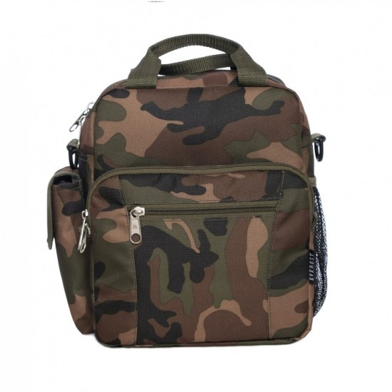 Woodland Camo Deluxe Utility Bag by Dufflebags.com - Luggage store - Wholesale bag - Best duffle bag - personalized duffle bag