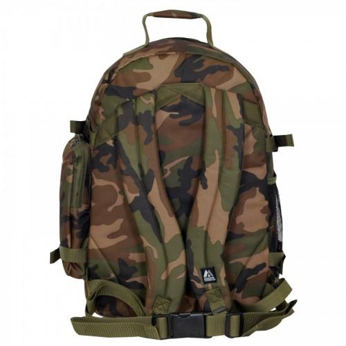 Oversize Woodland Camo Backpack