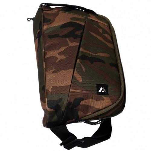 Woodland Camo Sling Messenger Bag