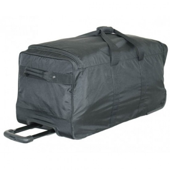 Ultra Simple Wheeled Duffel - COMES IN 2 SIZES! by Dufflebags.com - Luggage store - Wholesale bag - Best duffle bag - personalized duffle bag