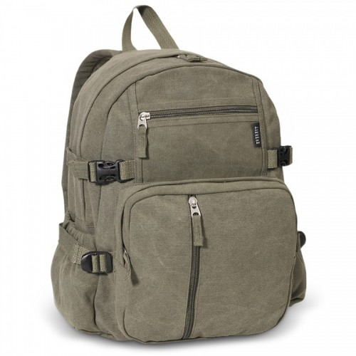 Soft Canvas Backpack