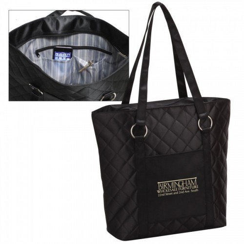 Quilted Fashion Tote